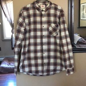 Levi button down shirt * new without tags*